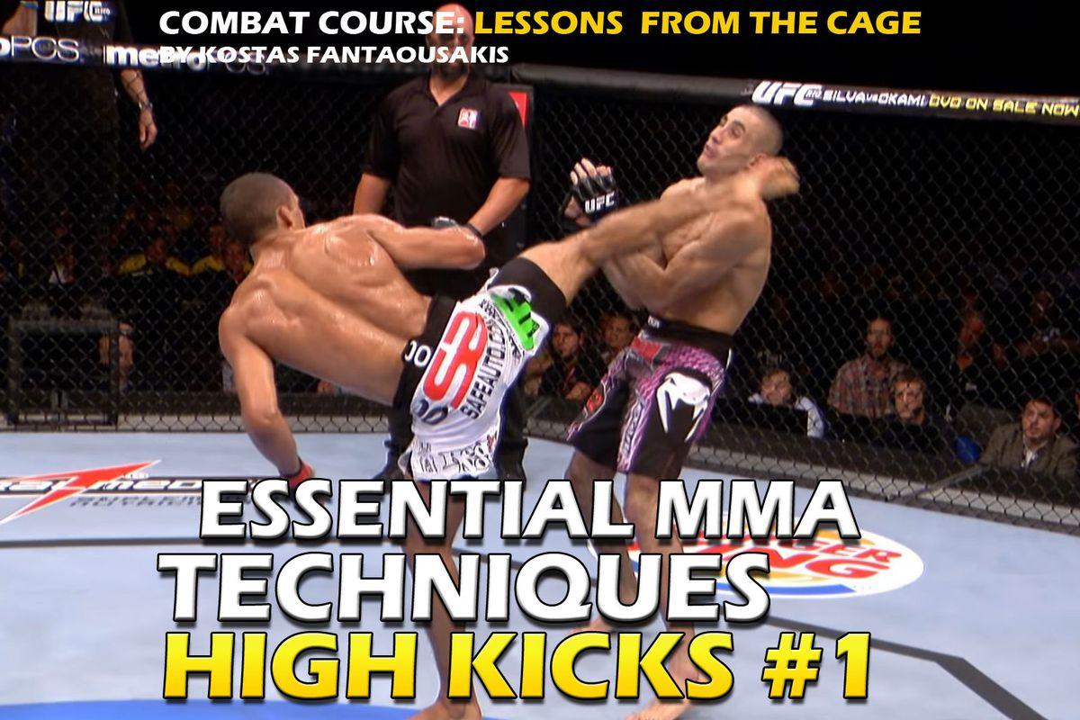 Essential MMA techniques: High Kicks, part 1