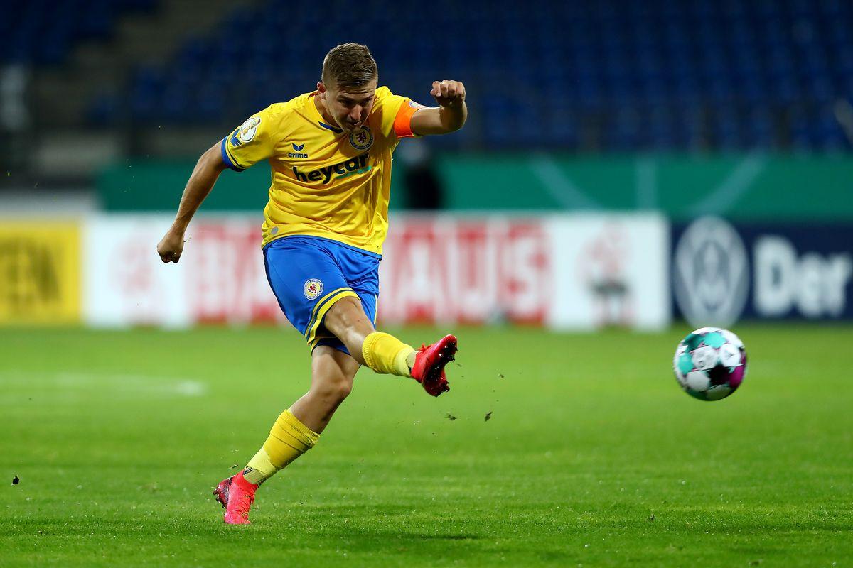Eintracht Braunschweig v Hertha BSC - DFB Cup: First Round
