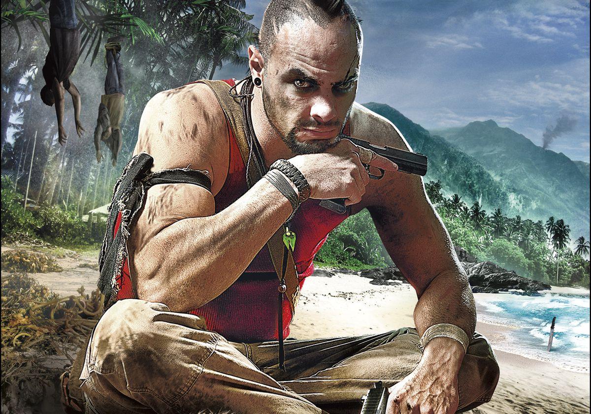Far Cry 3 - Vaas on the beach