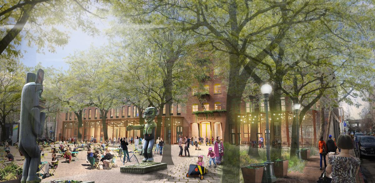 The Plan To Rehabilitate Three Historic Pioneer Square Buildings Into Apartments Curbed Seattle