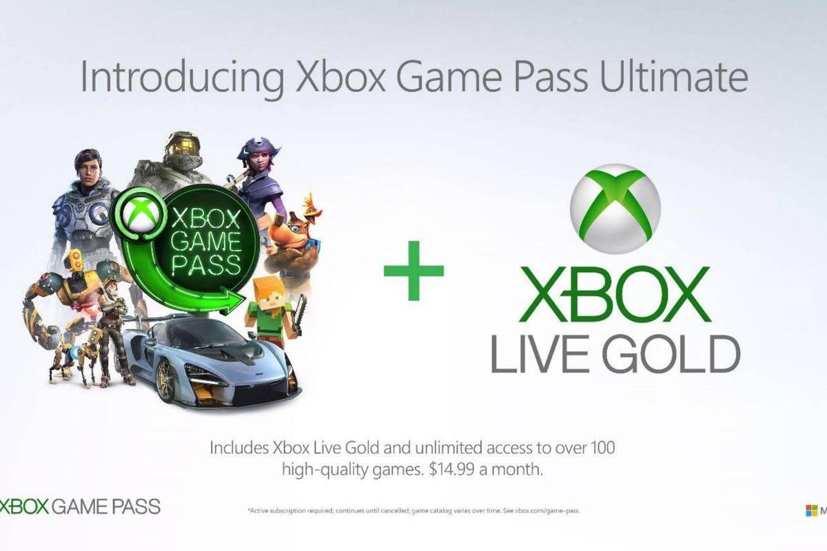 Microsoft's Xbox Game Pass Ultimate combines Xbox Live
