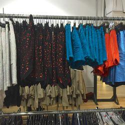 Shorts ($60), skirts ($75)