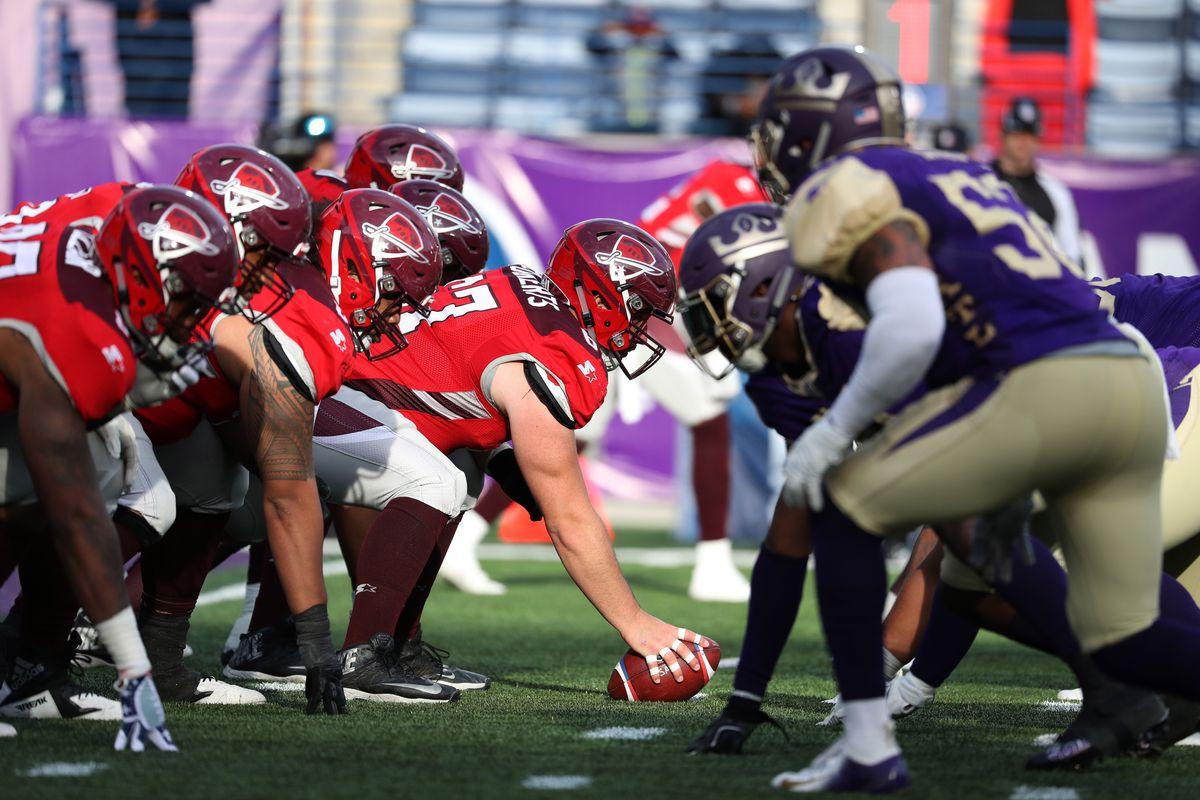 AAF: Atlanta Legends vs San Antonio Commanders