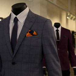 """Lapels can do a lot in terms of complimenting your body. Indochino offers six styles, however standard notch is the most universal. """"It's never wrong. It can go with any look for any type of event at any time of the year."""" If you're looking to be a little"""