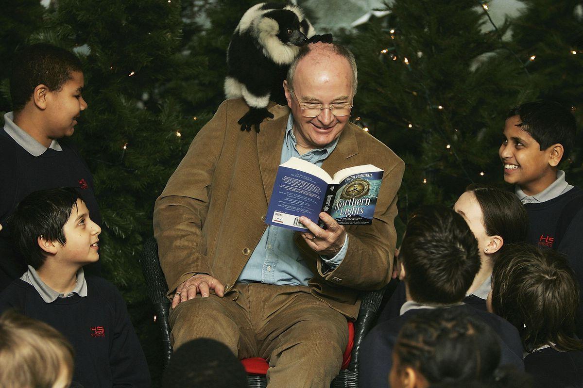 Philip Pullman At London Zoo