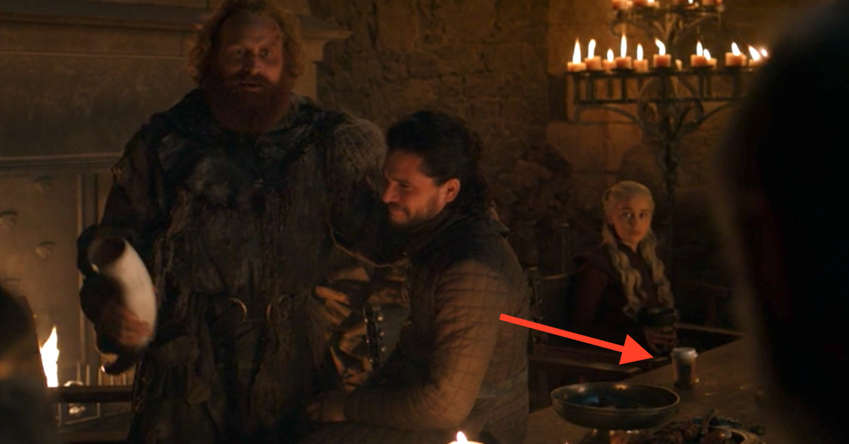 Emilia Clarke rats out the real Game of Thrones coffee cup culprit