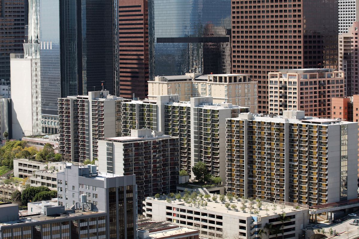 downtown la vacancy rate hits 17 year high curbed la