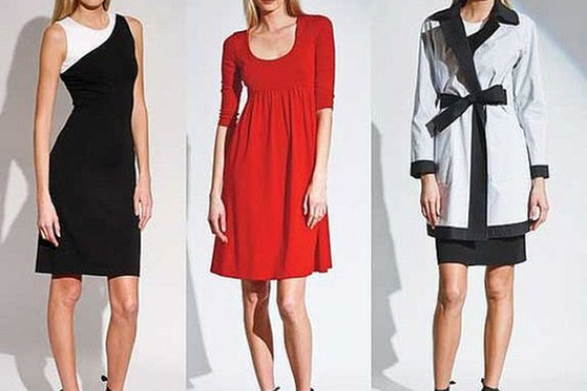 """Cute, basic-looking pieces from the Narciso Rodriguez/eBay line. Dresses will go for $75. Nice Image via <a href=""""http://www.coutorture.com/7212232"""">Coutorture</a>."""