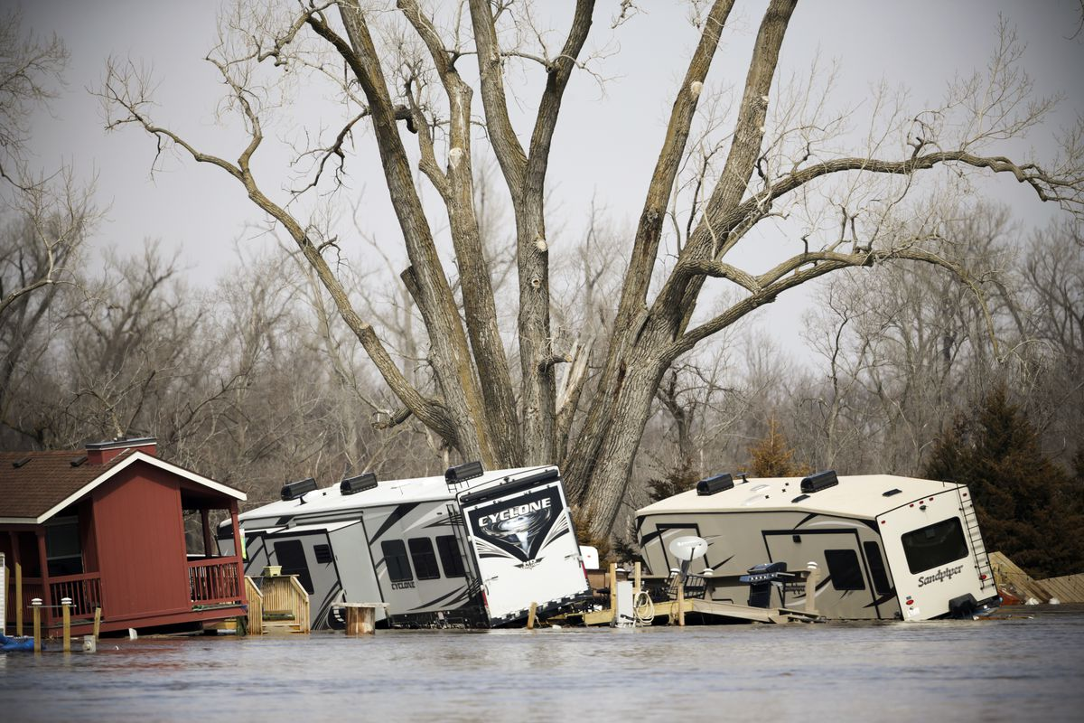 Nebraska flooding photos: what this historic flood looks