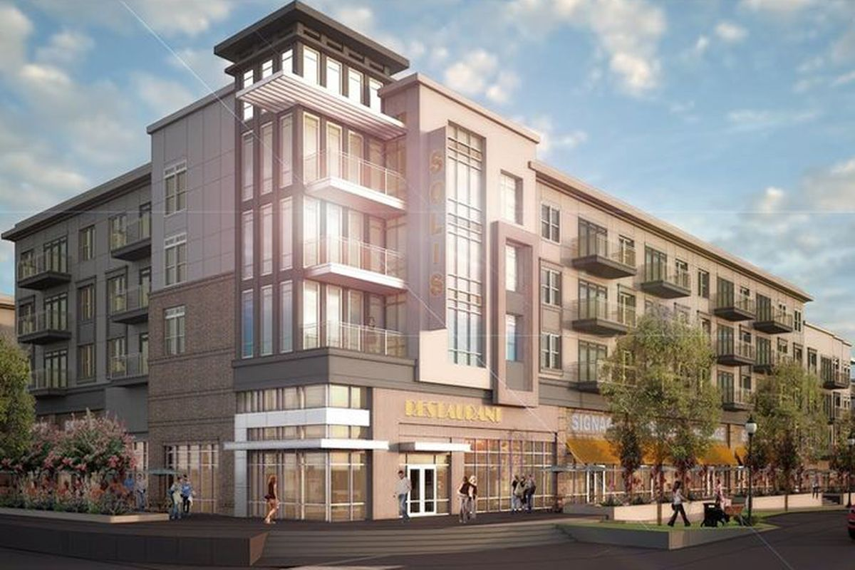 A Rendering Of The Building Terwilliger Pas Via Bisnow