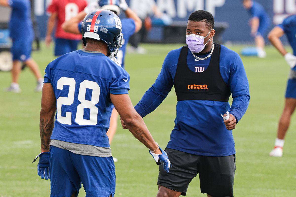 NFL: NY Giants Training Camp