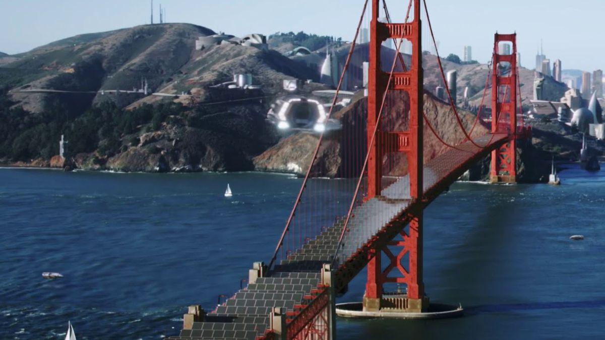 Star Trek Discovery: Golden Gate bridge covered in solar panels