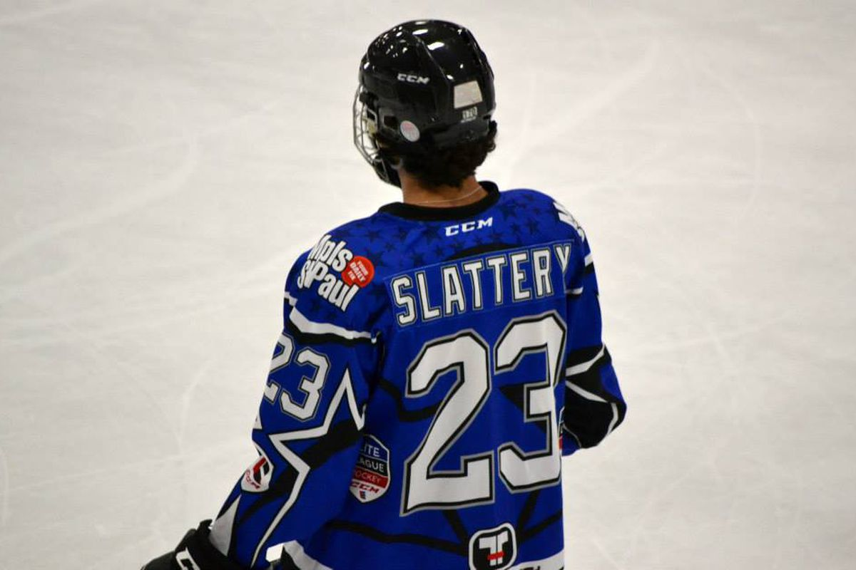 Affiliate Mitch Slattery will likely be a high pick in the USHL's Dispersal Draft