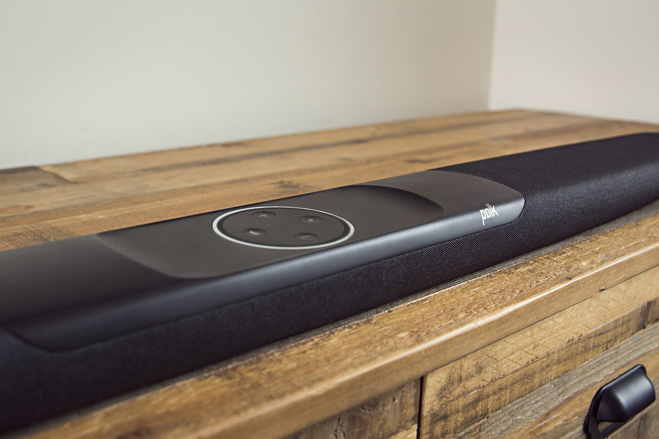 polk audio s new sound bar is alexa enabled and compatible with 4k tvs