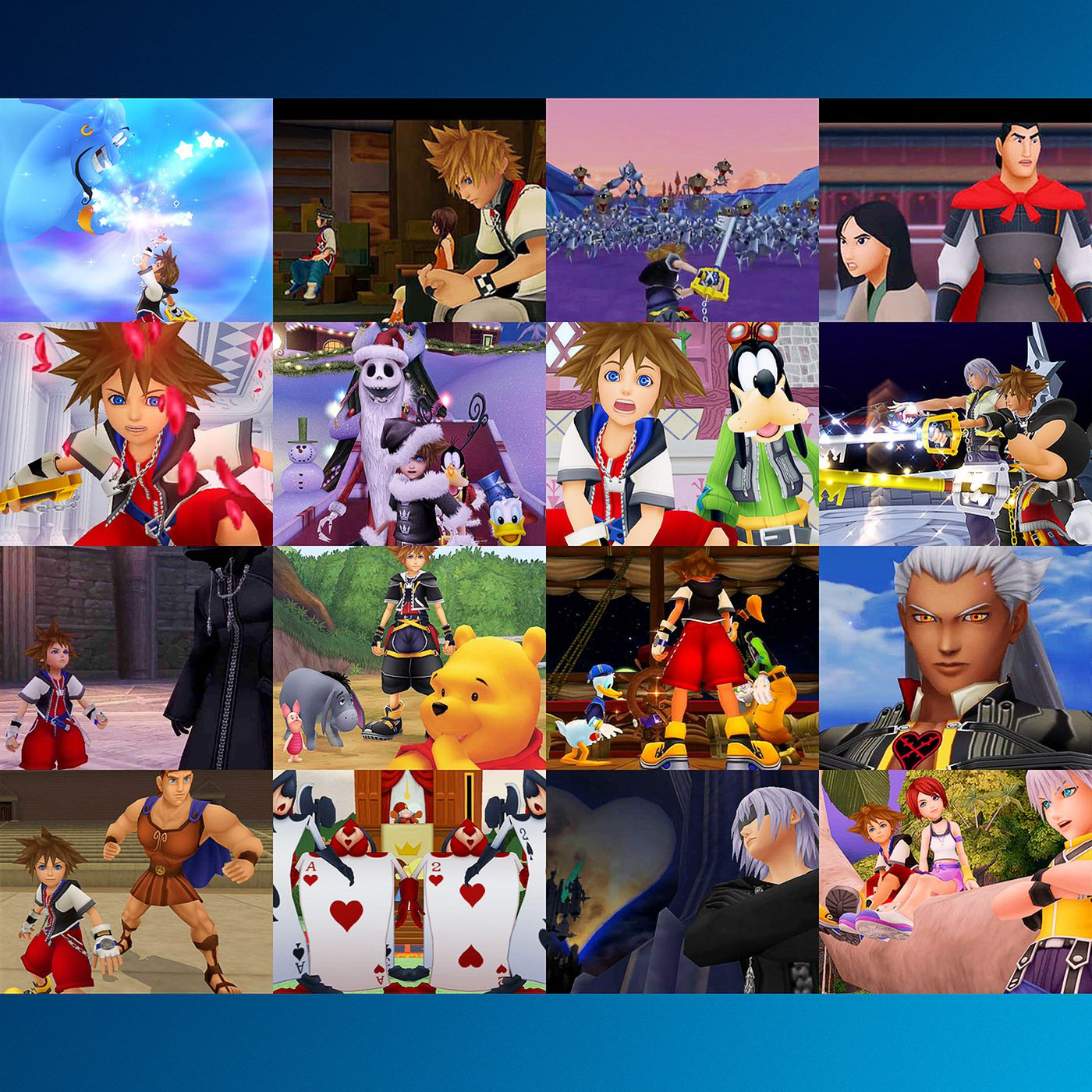 Kingdom Hearts And Kingdom Hearts 2 The Story And Timeline So