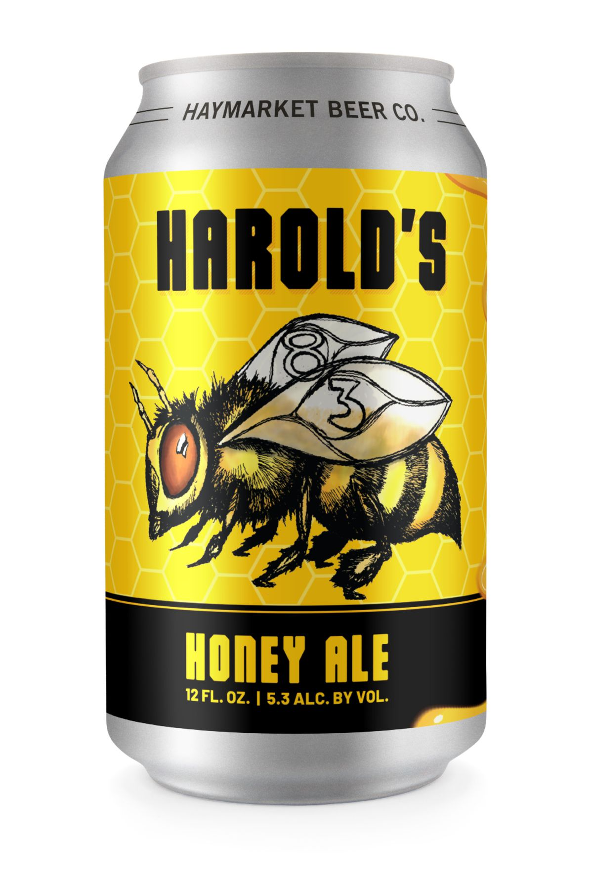 Harold's '83 Honey Ale will soon be available in cans.