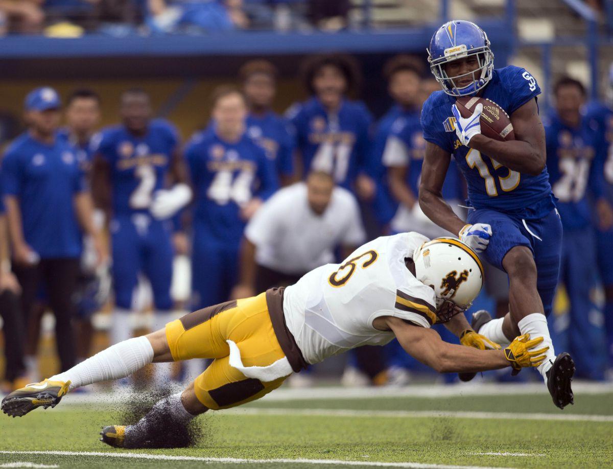 NCAA Football: Wyoming at San Jose State