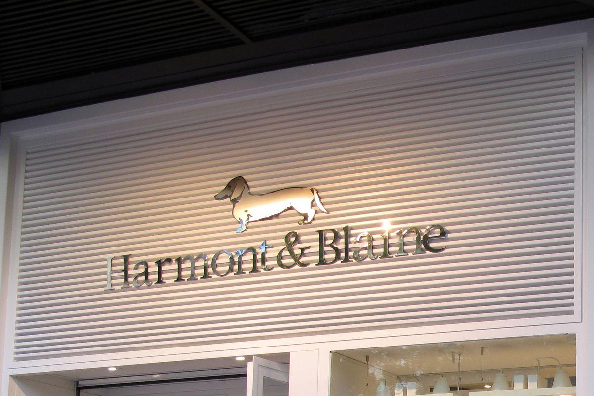 Store of the Italian brand Harmont and Blaine in Villanueva Street, Barrio Salamanca, Madrid