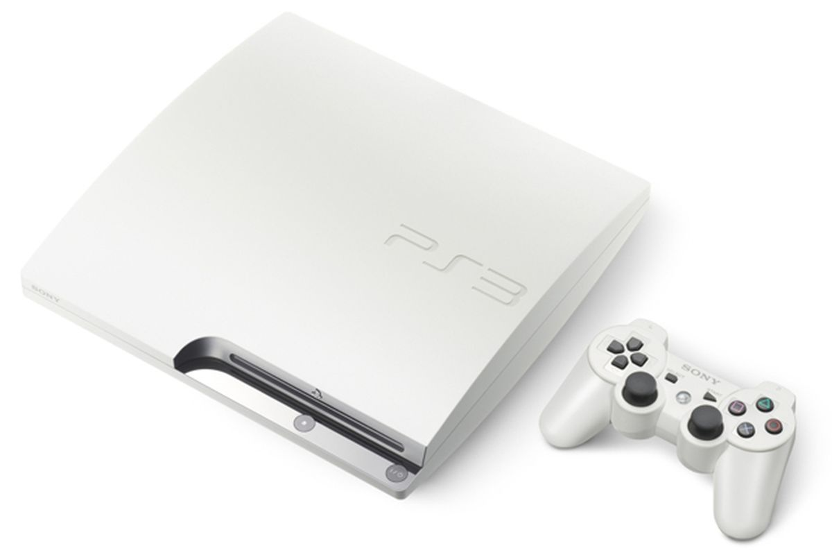 Classic White Playstation 3