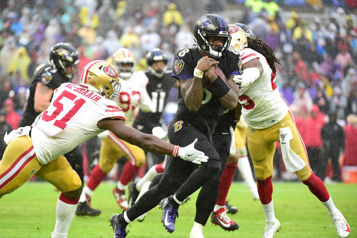 Image result for 49ers at ravens