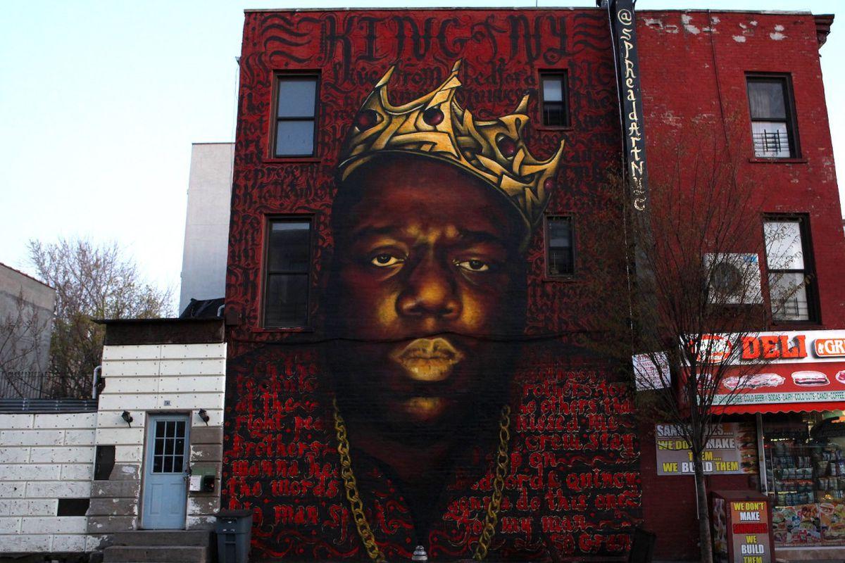 Biggie mural