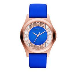 """<b><a href=""""http://www.marcjacobs.com/marc-by-marc-jacobs/watches/mbm1244/henry-skeleton-40mm?sort"""">Marc by Marc Jacobs</a></b> Henry Skeleton 40mm, $200"""