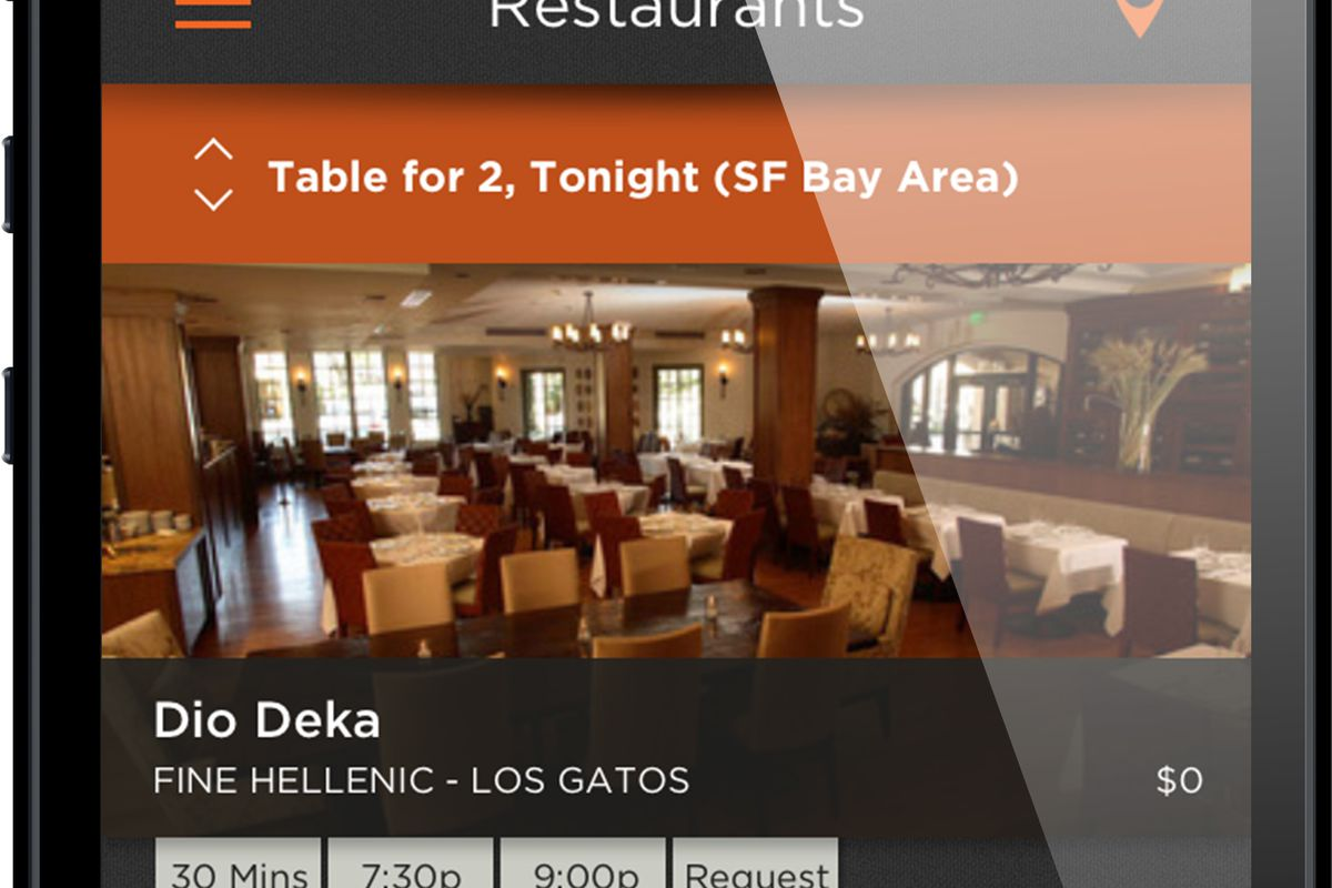 Reservations App BeeLine Joins The Fray With Frances And Rich Table - Market table reservations