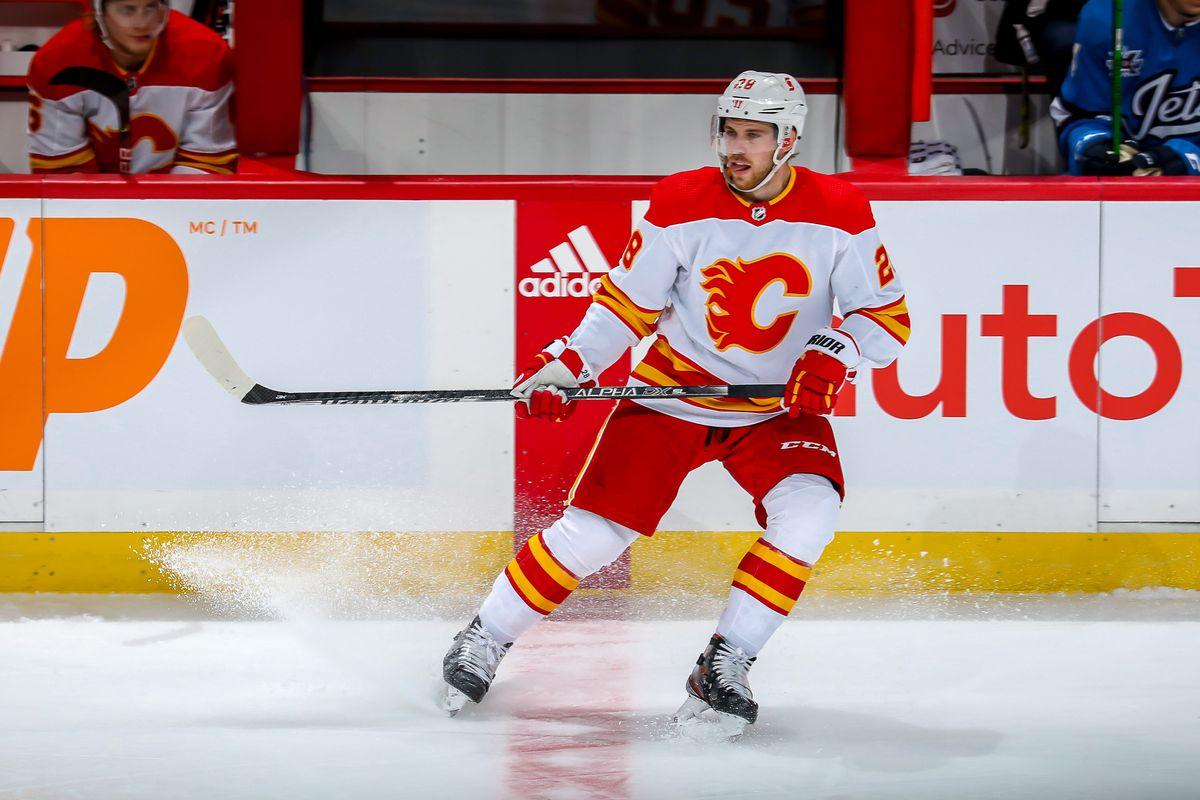 Calgary Flames v Winnipeg Jets