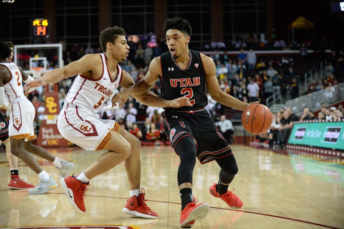 NCAA Basketball: Utah at Southern California