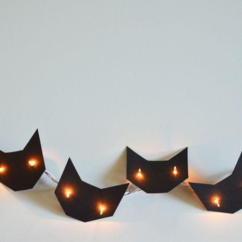 kitty string lights
