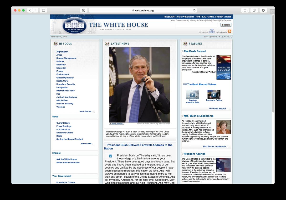 White House 2009