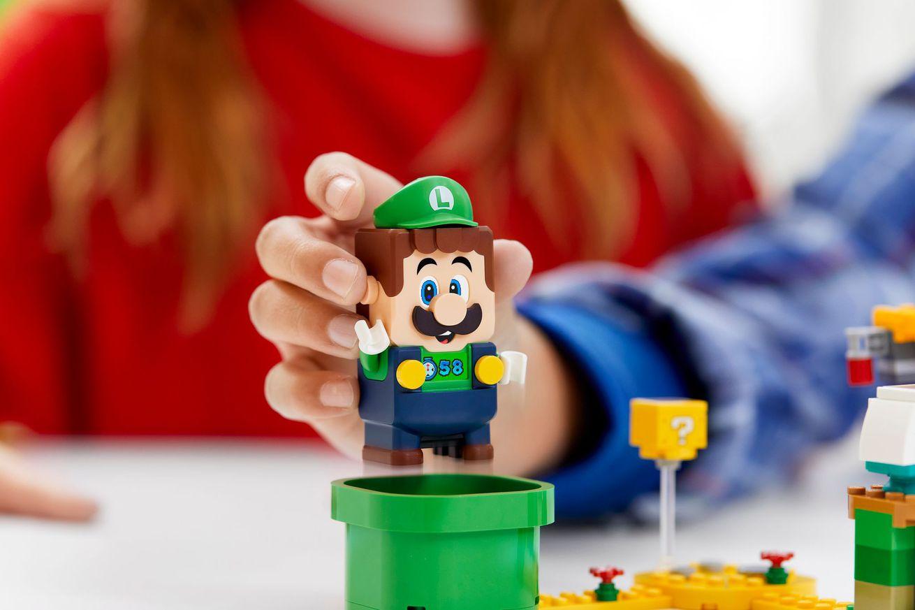 Luigi is joining Lego's interactive Mario sets