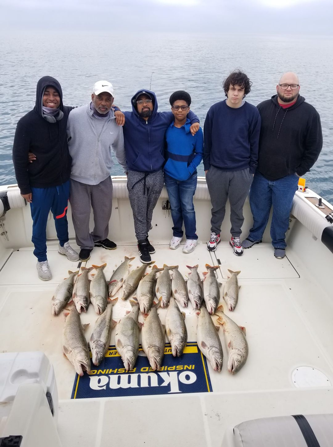 """As Capt. Rich Sleziak wrote onf Facebook, """"Great afternoon Trip Aboard the Triplecatch!! Thanks John and crew! 6 man Trout limit in no time!!"""" Provided photo"""