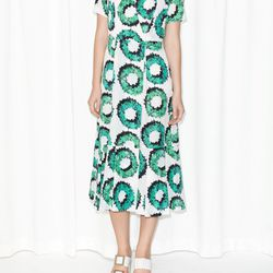 Garland print dress, $50 (was $100)
