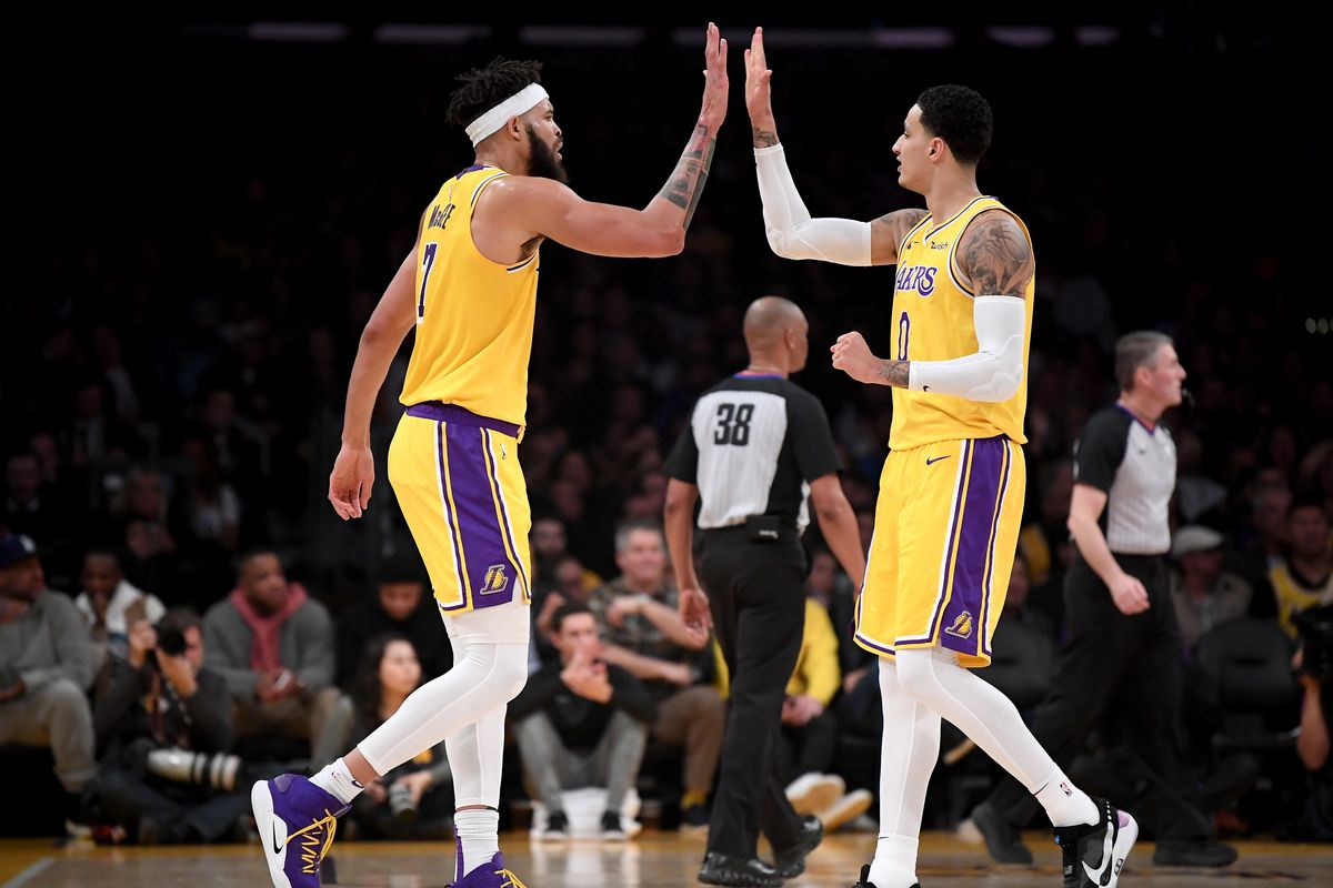WATCH: JaVale McGee, Kyle Kuzma, Anthony Davis and other Lakers are already prepping for training camp