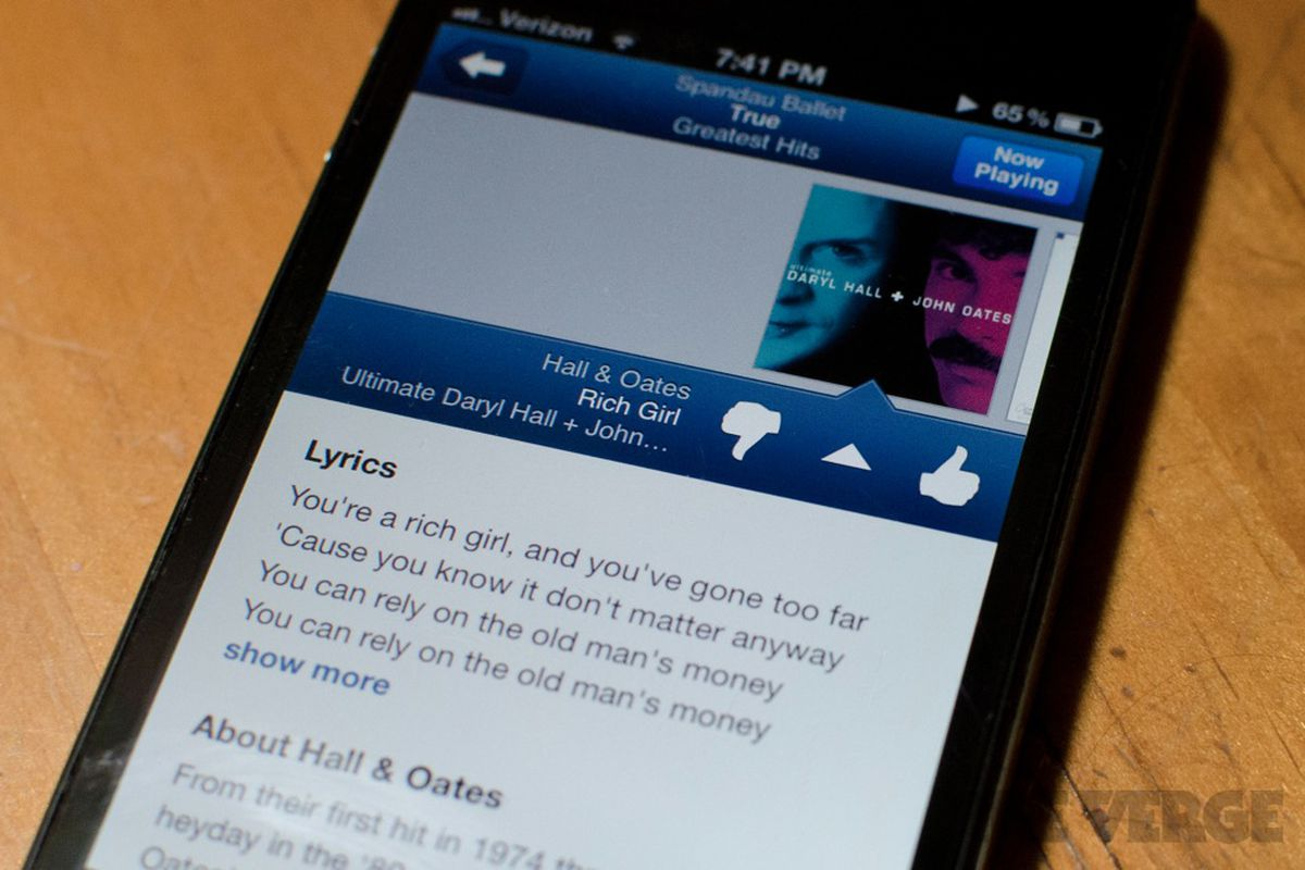 Pandora refreshes iPhone app with new visual design, song