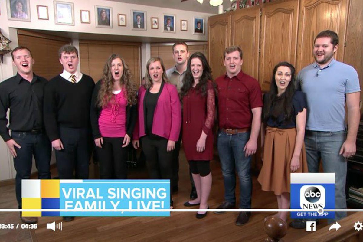 """The LeBaron family joined """"Good Morning America"""" live from Utah on Thursday morning."""