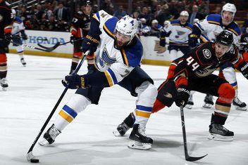 Blues Vs. Ducks Recap d925e71eb791