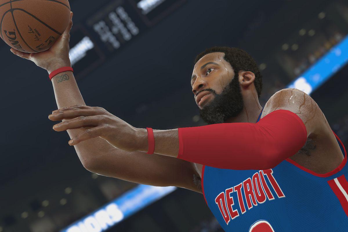 NBA 2K17 - Andre Drummond