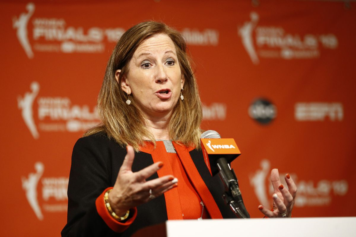 The WNBA draft will be a virtual event this year. Commissioner Cathy Engelbert will announce the picks on ESPN2 and the top selections will do interviews remotely.