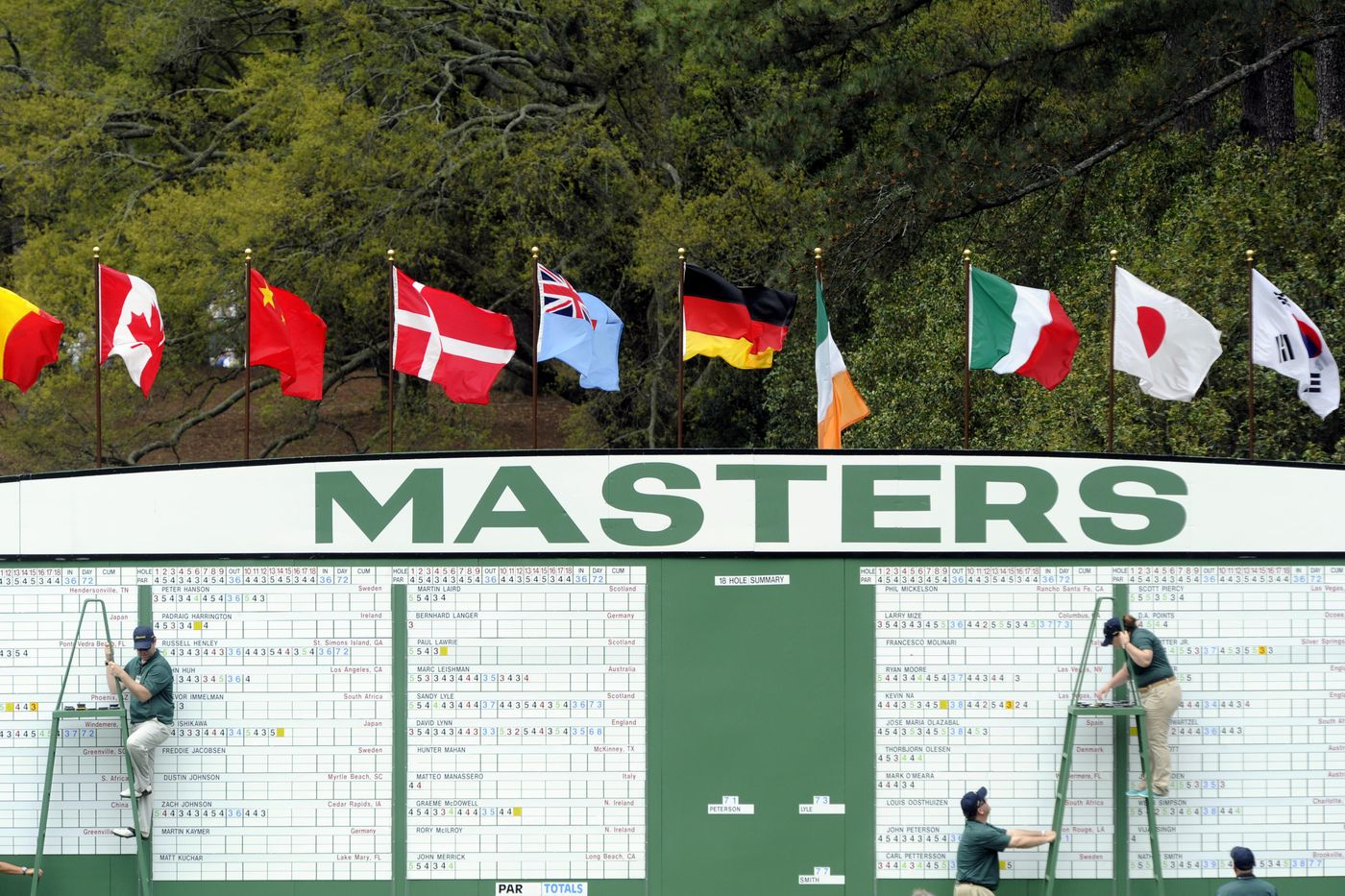 Color master inc in vernon - Remixing The Masters Who Should Be Playing Augusta National This Year Sbnation Com