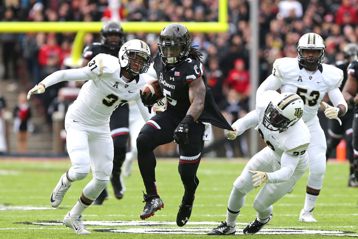looking ahead to cincinnati football's 2016 schedule: ucf knights