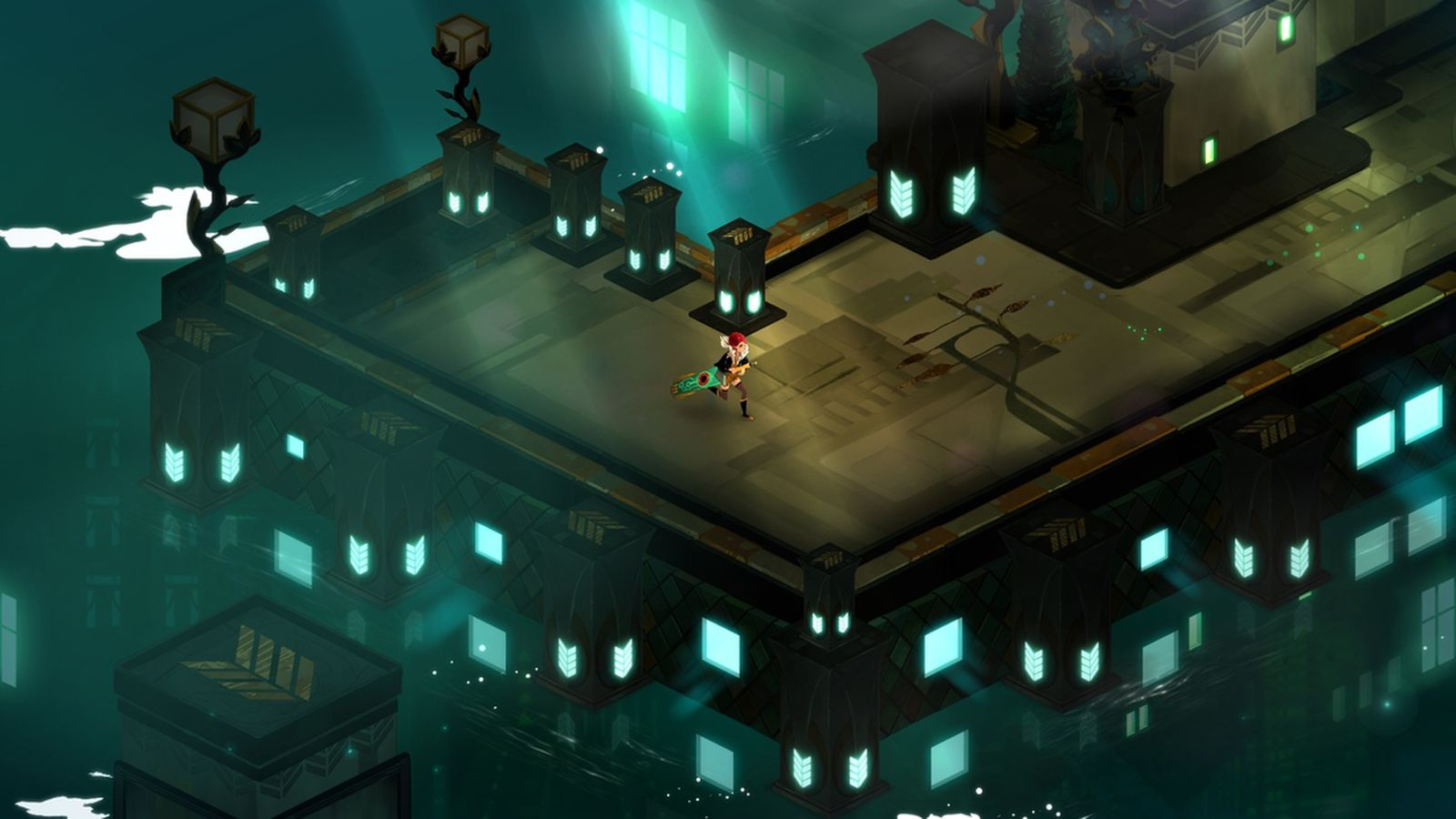Swords And Cyberpunk Transistor Is A Darker Grittier Take On Bastion The Verge
