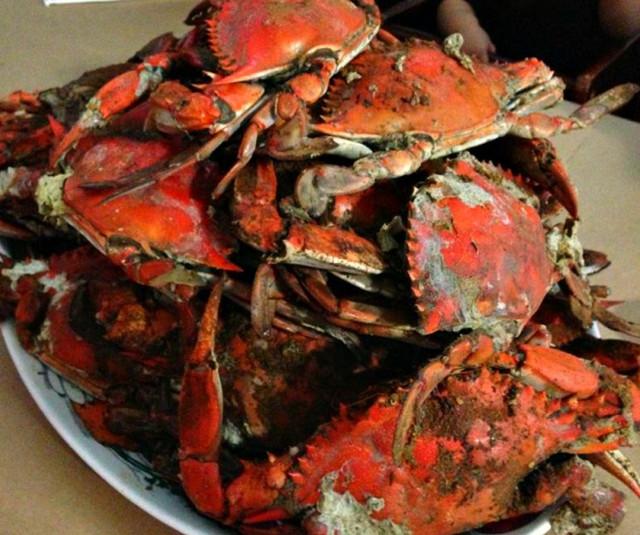Captain Pell's VA crabs