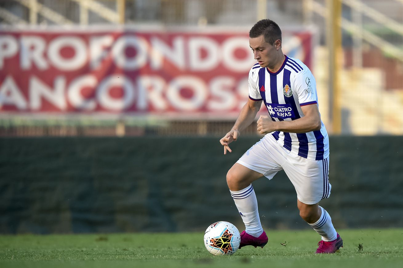 Real Madrid Terminate Jorge de Frutos?s Loan Spell At Valladolid And Send Him To Rayo Vallecano