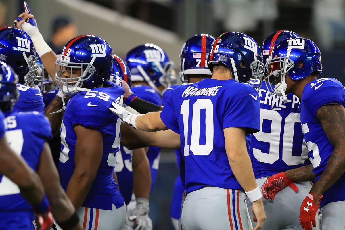 New York Giants vsDallas Cowboys