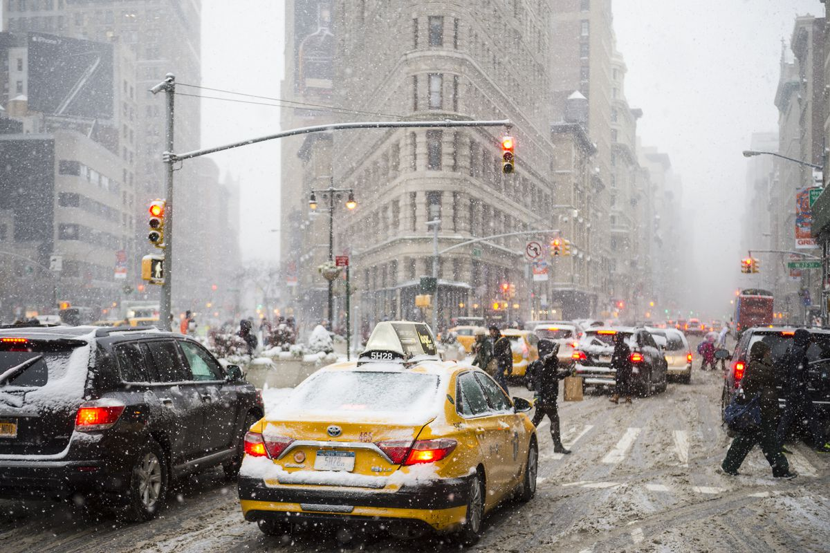 NYC's First Winter Storm Of The Season: Everything You