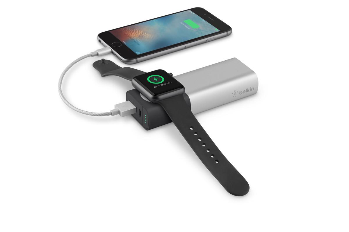 Belkin's $99 Apple Watch charging battery pack is still a
