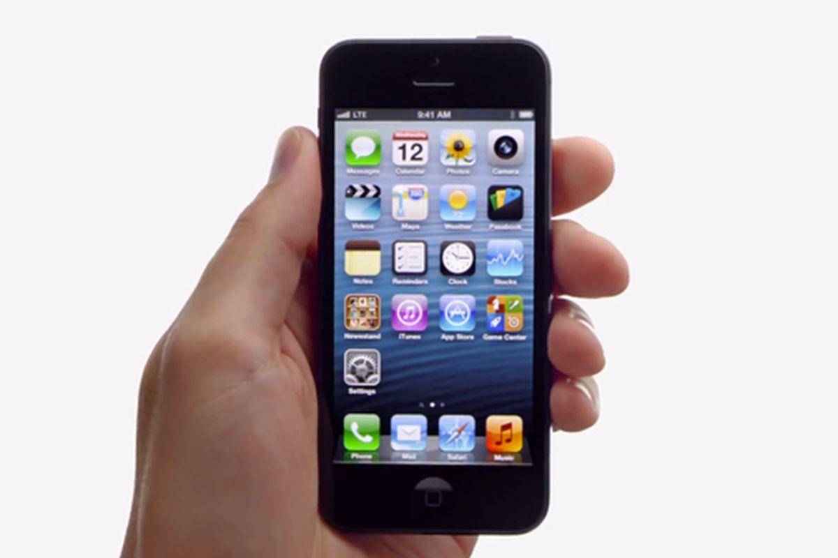 iPhone 5 ad