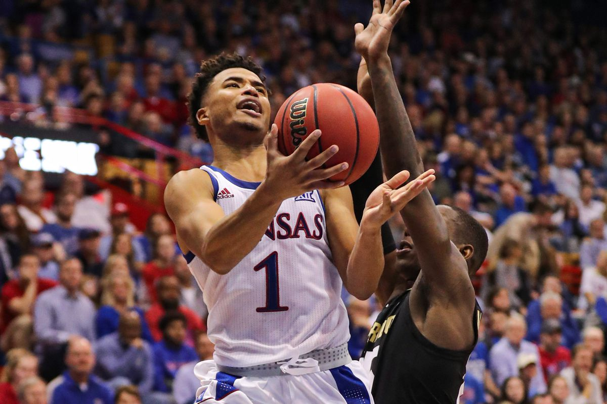 NCAA Basketball: Colorado at Kansas